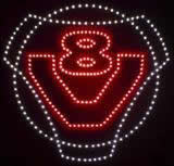 Led Logo Scania V8